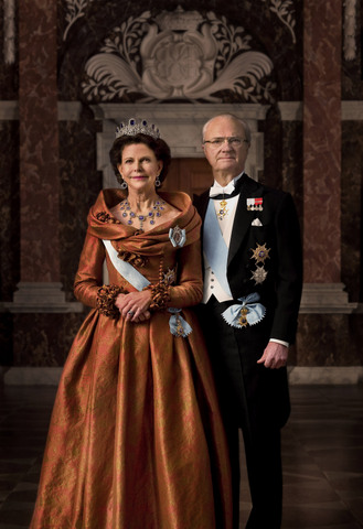 King Carl XVI Gustaf and Queen Silvia. Photo copyright: Bruno Ehrs / The Royal Court, Sweden
