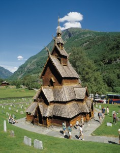 Borgund Stave Church. Photo by Pål Bugge / Innovation Norway