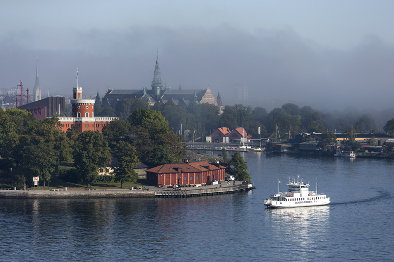 Djurgården ferry. Photo by Henrik Trygg/Stockholm Media Bank