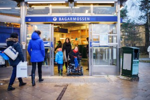 Stockholm subway station. Photo by Simon Paulin/imagebank.sweden.se